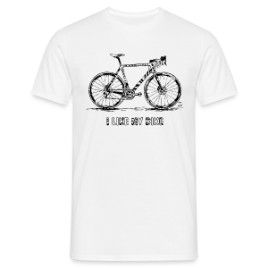 CycloCross I LIKE MY BIKE - Männer T-Shirt