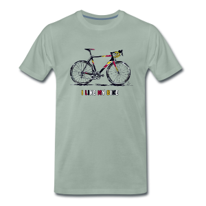 Racebike I LIKE MY BIKE - Männer Premium T-Shirt