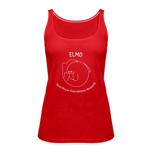 ELMO Red Tank Top - Women's Premium Tank Top
