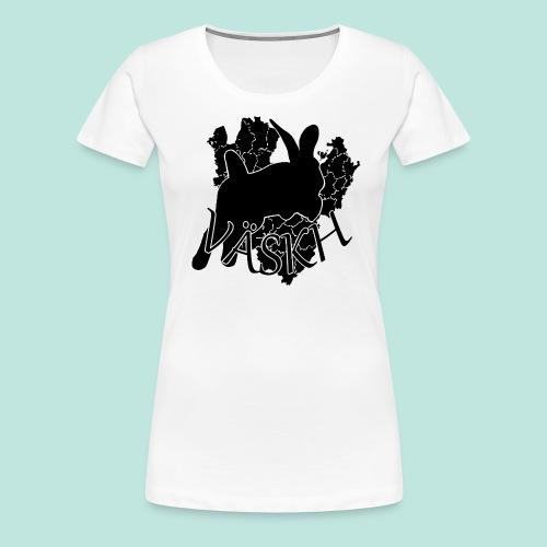 VÄSKH T-Shirt (Dammodell) - Premium-T-shirt dam