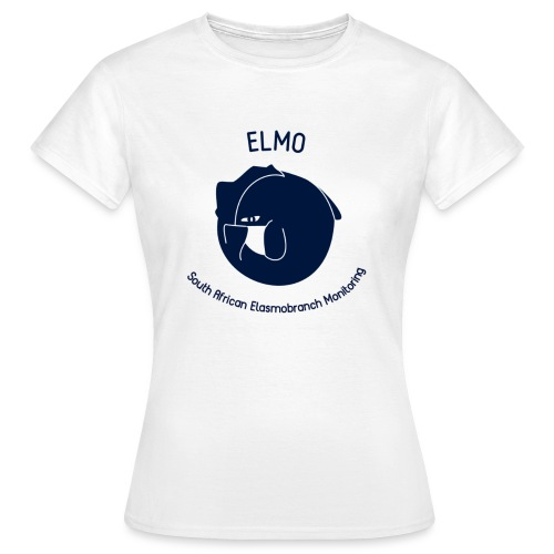 ELMO White Ladies T-Shirt - Women's T-Shirt