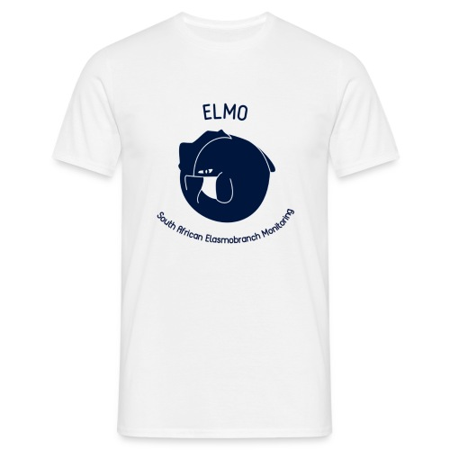 ELMO White T-Shirt - Men's T-Shirt