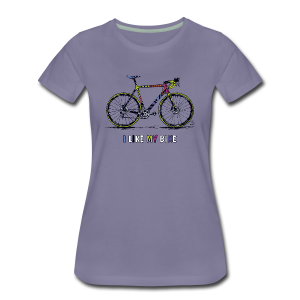CycloCross I LIKE MY BIKE - Frauen Premium T-Shirt