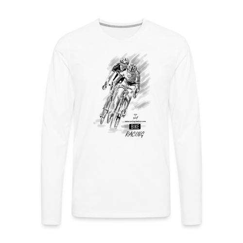 BIKE RACING - Männer Premium Langarmshirt