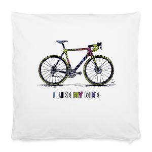 CycloCross I LIKE MY BIKE - Kissenbezug 40 x 40 cm