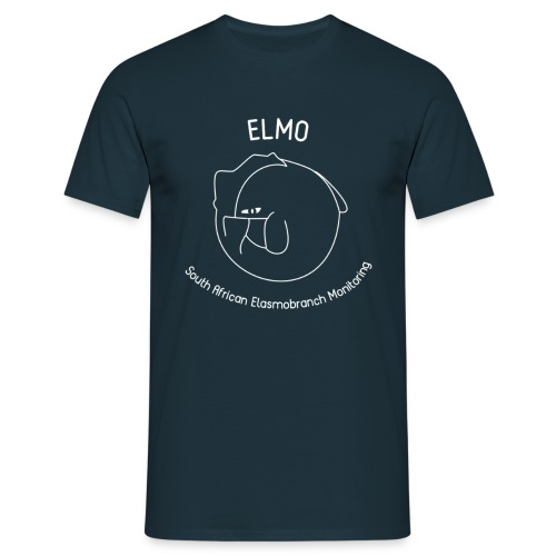 ELMO Navy Mens T-Shirt - Men's T-Shirt