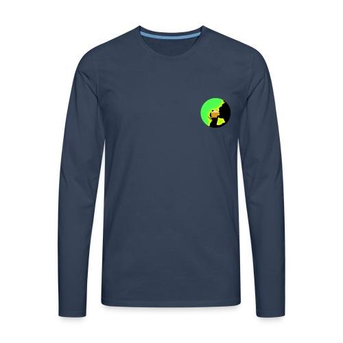 BP-Pulli blue - Männer Premium Langarmshirt