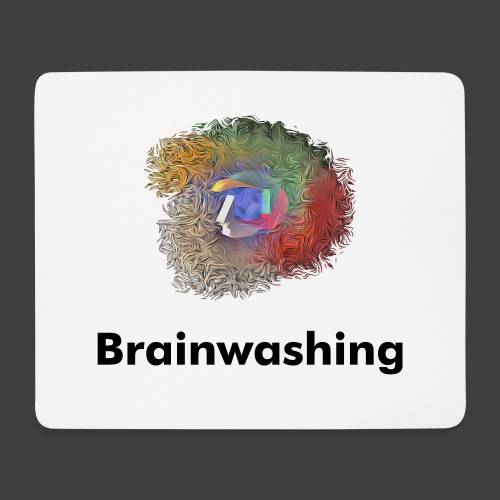 Brainwashing 3D - Mouse Pad (horizontal)