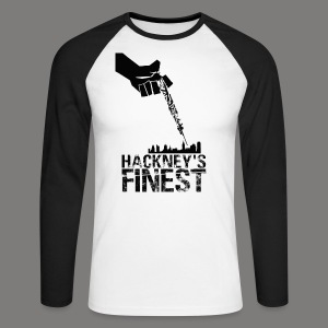 Hackney's Finest long-sleave baseball shirt - Men's Long Sleeve Baseball T-Shirt
