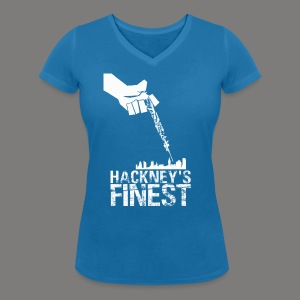 Hackney's Finest T-Shirt - Women's cut - Women's V-Neck T-Shirt