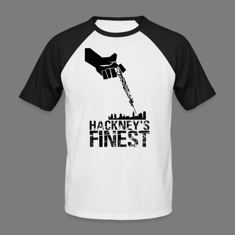 Hackney's Finest baseball T-shirt - Men's Baseball T-Shirt