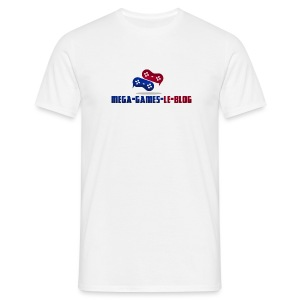 Tee Shirt Mega-Games-Blog.com le Gaming en Force - T-shirt Homme