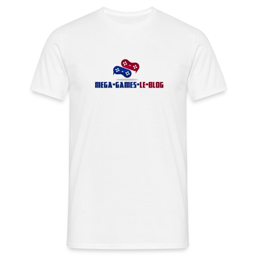 Tee Shirt Mega-Games-Blog.com le Gaming en Force - T-shirt Homme