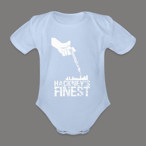 Hackney's Finest baby body suit - Organic Short-sleeved Baby Bodysuit