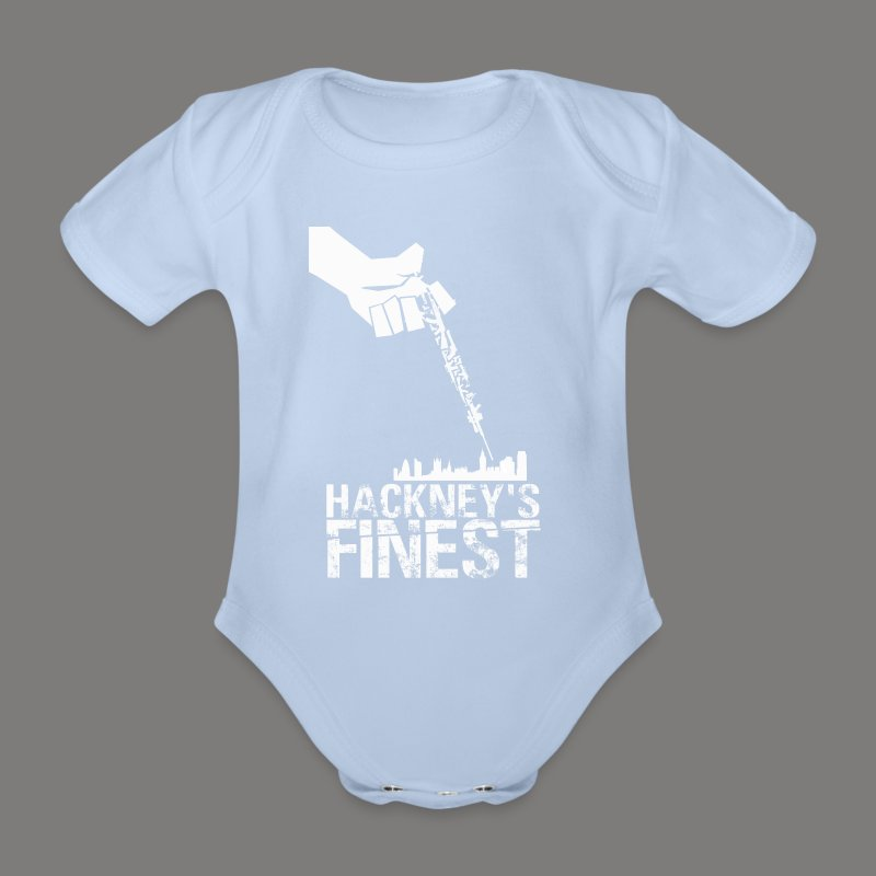 Hackney's Finest baby body suit - Organic Short-sleeved Baby Bodysuit