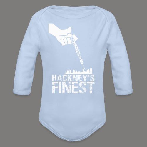 Hackney's Finest baby one-piece - Organic Longsleeve Baby Bodysuit