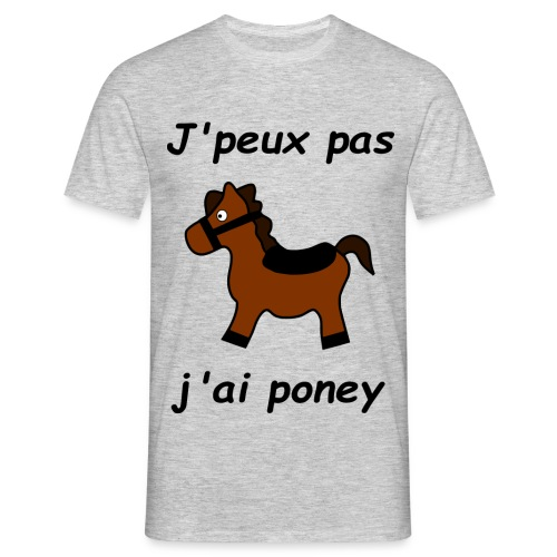 Poney - T-shirt Homme