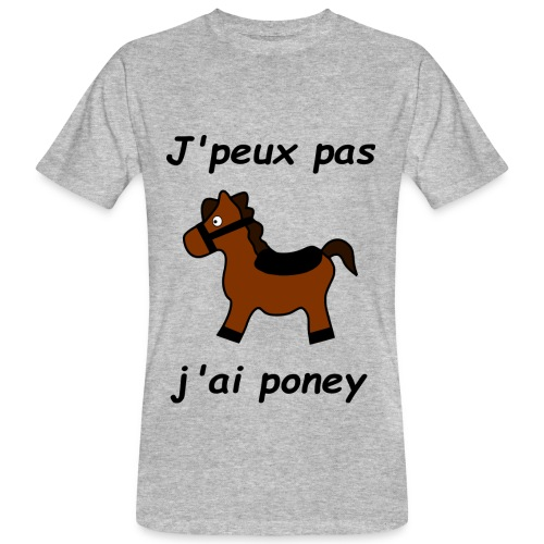 Poney - T-shirt bio Homme