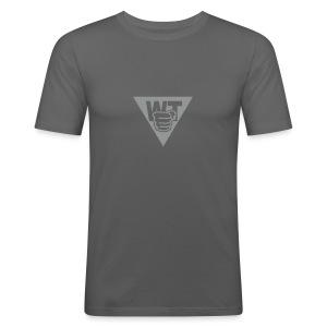 WT Slim Fit Shirt Männer - Männer Slim Fit T-Shirt