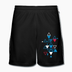 graphic pattern of triangles Trousers & Shorts