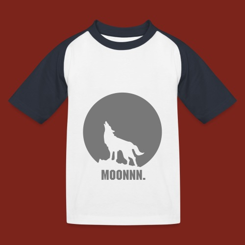 Moon t-shirt - Kinderen baseball T-shirt