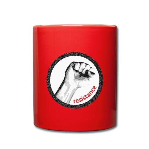 ResistanceTasse rot - Tasse einfarbig