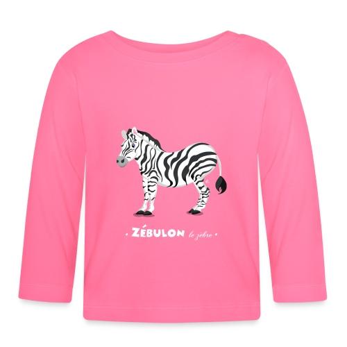 T-Shirt Bébé Zébulon le zèbre - T-shirt manches longues Bébé