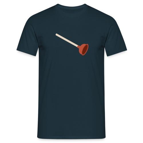 Plopper mannen t-shirt - Mannen T-shirt