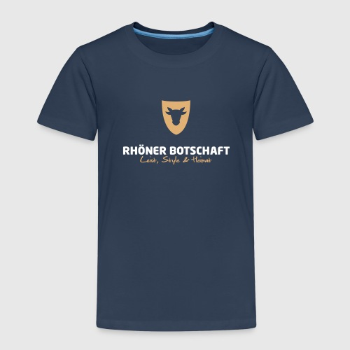 Kinder T-Shirt – Rhöner Botschaft - Kinder Premium T-Shirt