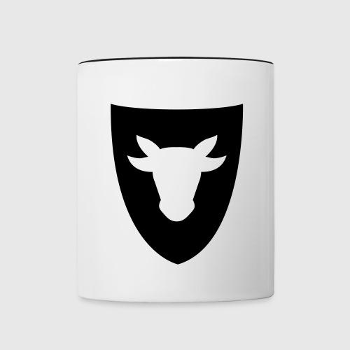 Tasse – Ochsenwappen - Tasse zweifarbig