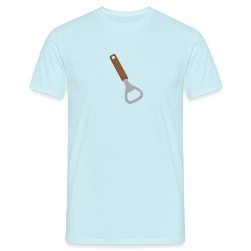 Flesopener mannen t-shirt - Mannen T-shirt