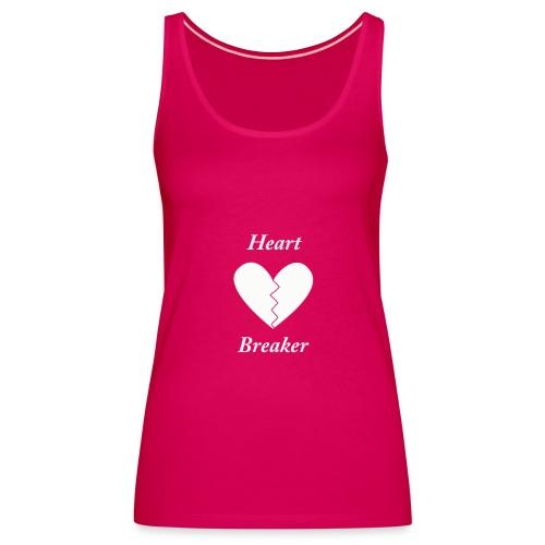 Dames top heart breaker - Vrouwen Premium tank top
