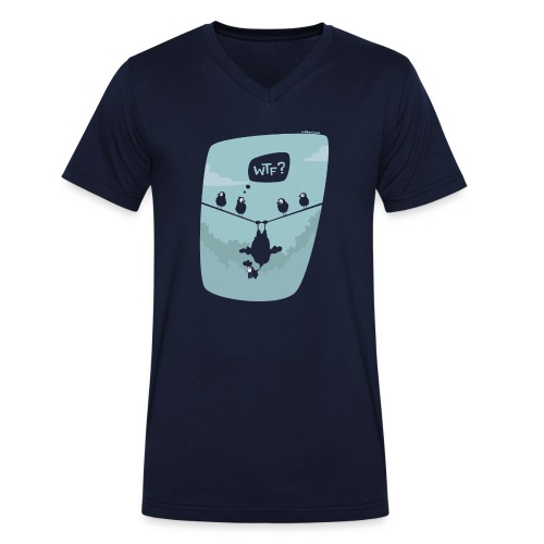 Chicken fly - T-shirt bio col V Stanley & Stella Homme
