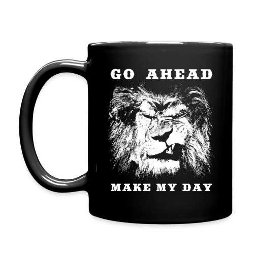 Go ahead, make my day. Kaffeetasse - Full Colour Mug