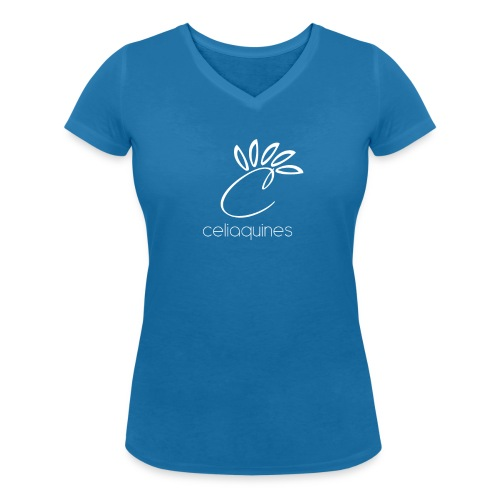 Camiseta ecológica mujer con cuello de pico de Stanley & Stella