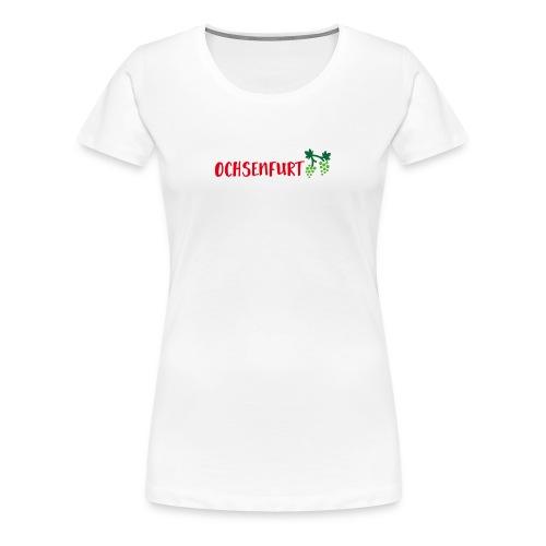 Logo3_Ochsenfurt - Frauen Premium T-Shirt