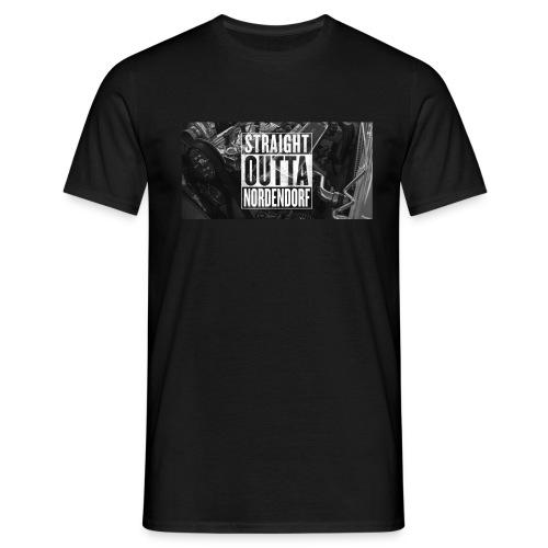 Straight Outta Nordendorf - Männer T-Shirt