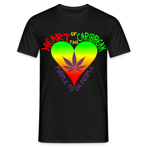 HEART OF THE CARIBBEAN - Men's T-Shirt