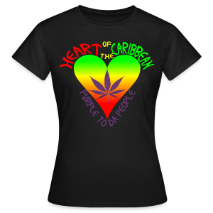 HEART OF THE CARIBBEAN - Women's T-Shirt