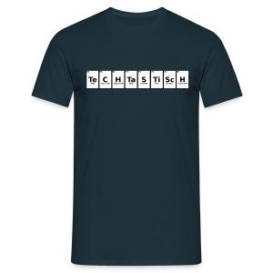 TeCHTaSTiScH - Männer T-Shirt (Ohne Leuchten) - Männer T-Shirt