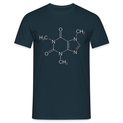 Koffein - Männer T-Shirt - Männer T-Shirt