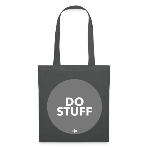 DO STUFF grau Tasche - Stoffbeutel