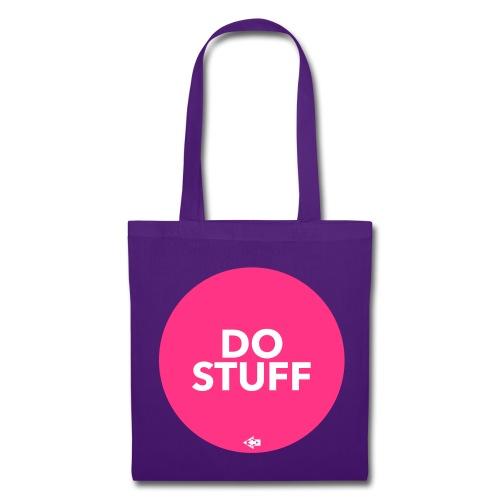 DO STUFF pink Tasche - Stoffbeutel