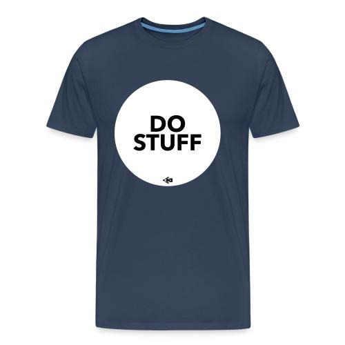 DO STUFF T-Shirt weiß - Männer Premium T-Shirt