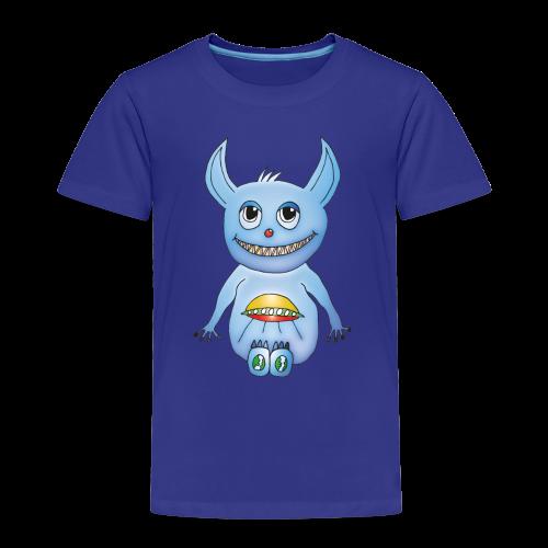 Mylo Kinder T-Shirt blau - Kinder Premium T-Shirt