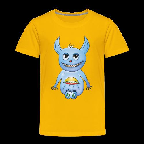 Mylo Kinder T-Shirt gelb - Kinder Premium T-Shirt