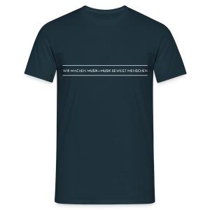 WMMMBM Slogan - Men's T - Männer T-Shirt
