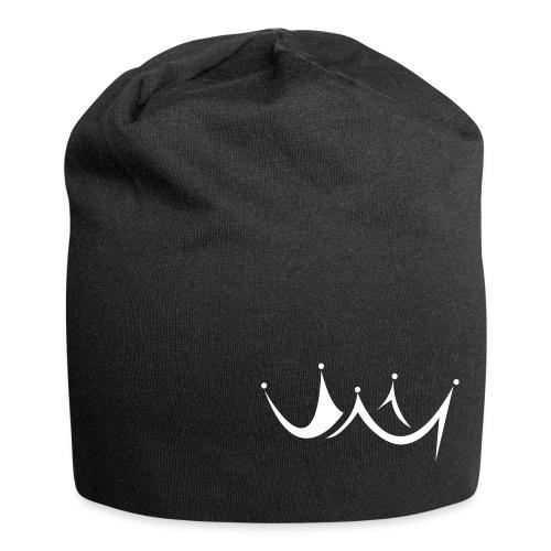 Beanie Logo schwarz - Jersey-Beanie