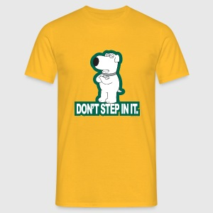 Family Guy Brian Don't Step In It Men T-Shirt - Men's T-Shirt