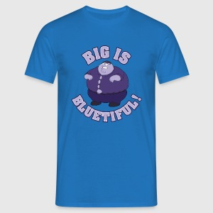 Family Guy Peter Griffin Big is Bluetiful! Men T-S - Men's T-Shirt